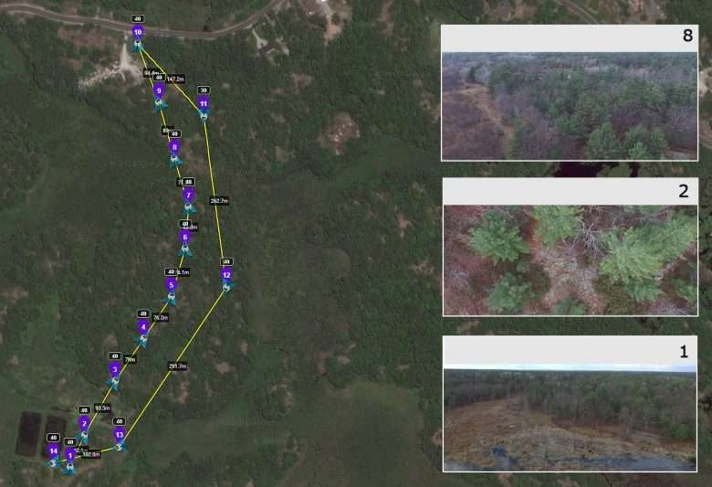 Georeferenced Land Survey